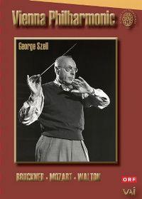 Cover Vienna Philharmonic / George Szell - Bruckner - Mozart - Walton [DVD]